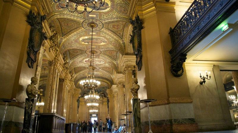 Avant Foyer de la ópera Garnier