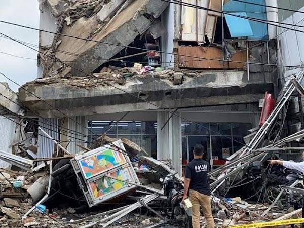 Ternyata Gedung 4 Lantai yang Ambruk di Slipi Tak Miliki IMB