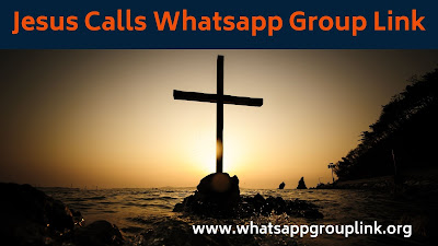jesus calls whatsapp group link
