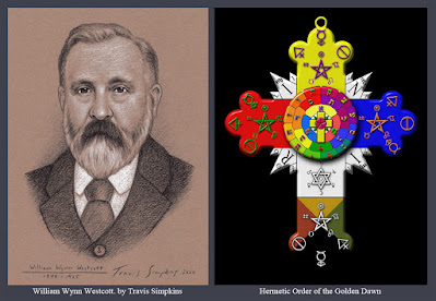 William Wynn Westcott. Hermetic Order of the Golden Dawn. Ceremonial Magick. by Travis Simpkins