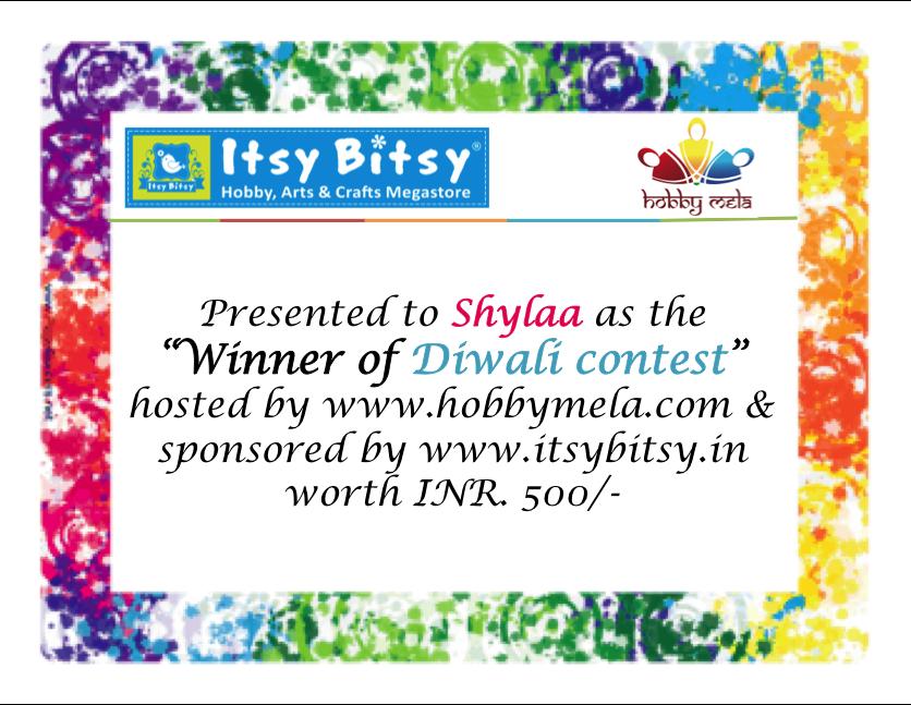 http://www.hobbymela.com/winner-diwali-contest-shylaa/