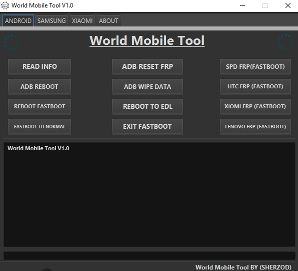 World Mobile Tool v1.0 Free Download