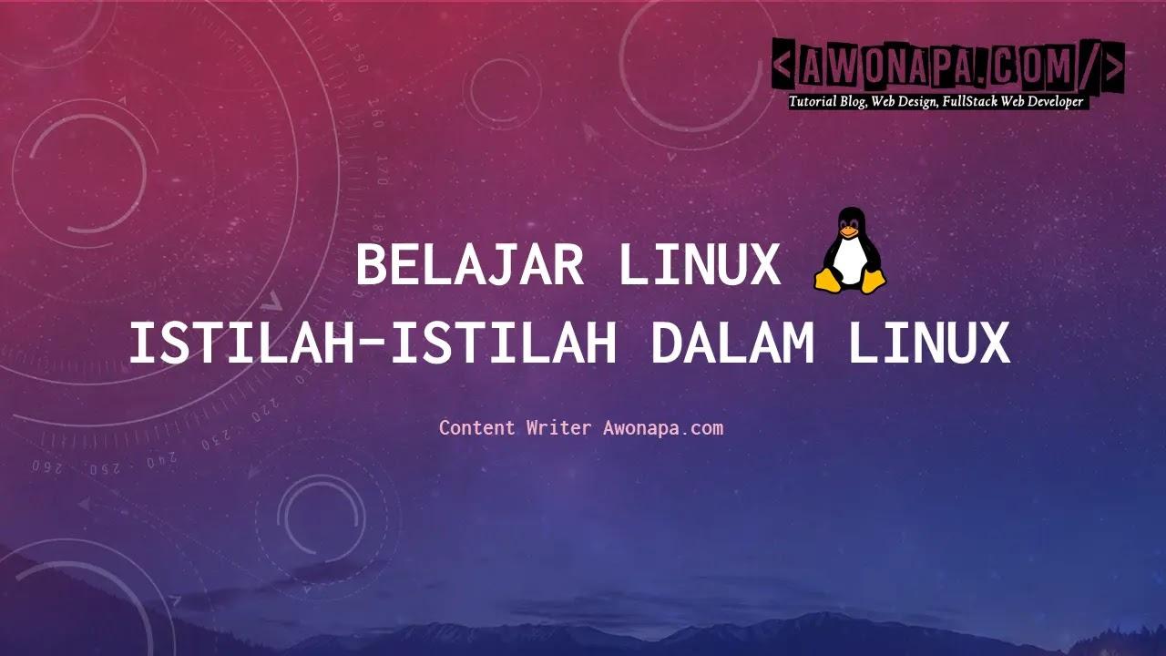 Istilah pada Linux