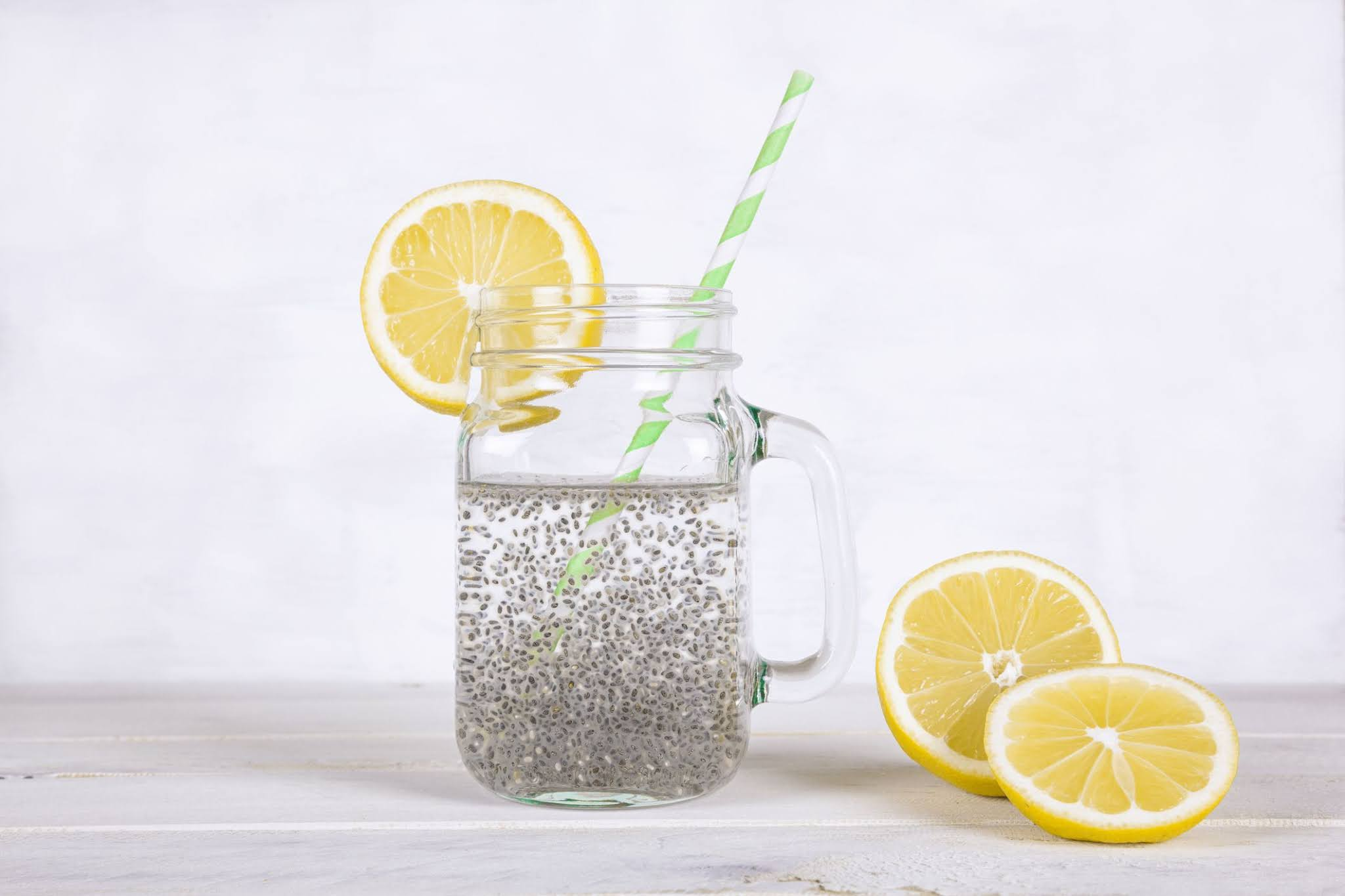 chia seeds water
