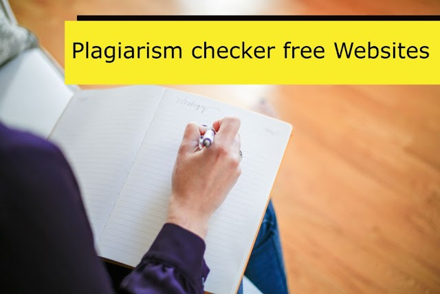 100% Free 6 Free Plagiarism Checker Website in Hindi