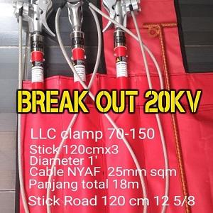 Jual 20KV Grounding Set PLN Merk Break Out di Jakarta