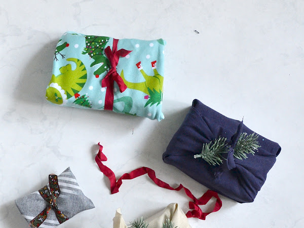 How to Gift Wrap Japanese Style - Reusable Fabric Gift Wrap
