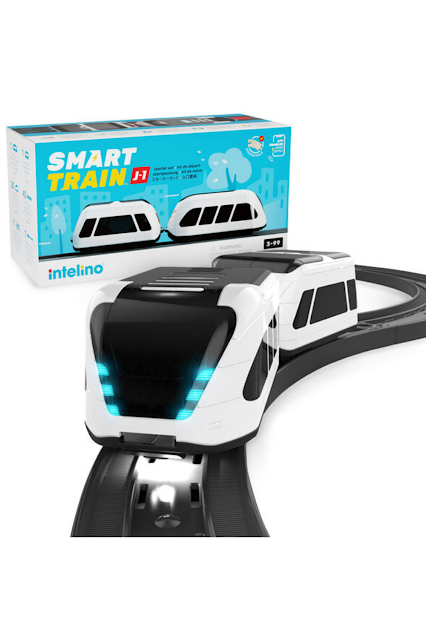 Intelino Smart Train Kids STEM Toy Giveaway