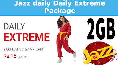 Jazz daily Daily Extreme Package Details
