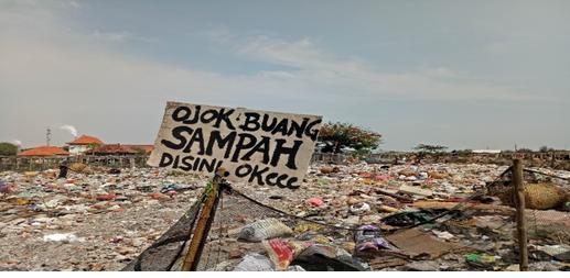 Gambar 5 Tumpukan Sampah Hasil Rumah Tangga