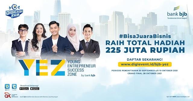 Bank bjb Gelar Kompetisi Bisnis Road To bjb YEZ, Total Hadiah Rp.225 juta