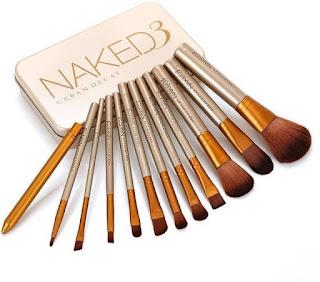 Smart Urban Decay Naked3 Makeup Brush Set