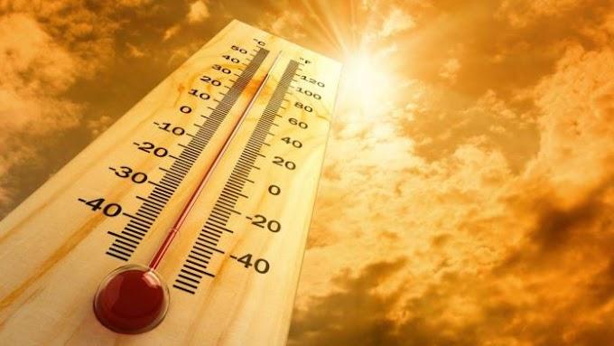 ONDA de calor em Elesbão Veloso; umidade do ar segue baixo