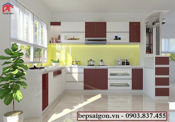 tu bep, tủ bếp, tủ bếp thông minh, nội thất nhà bếp