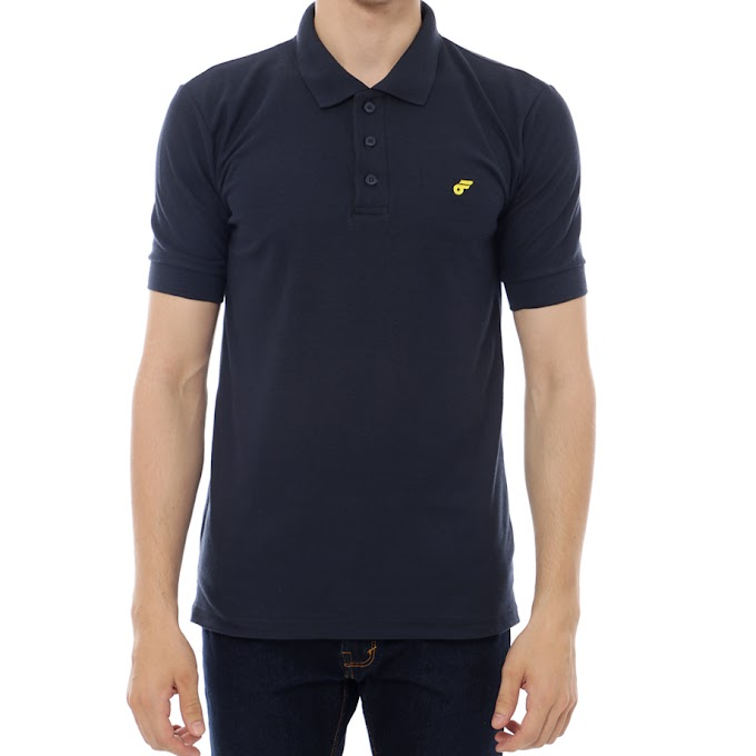 Polo Shirt Follback Detroit Blue Navy