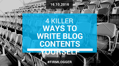 how to write blog contents,killer blog articles