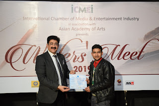 My First Interaction With Mr. Sandeep Marwah Ji In Marwah Studio | Saransh Sagar