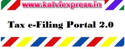 Process of Income Tax e-Filing Portal 2.0