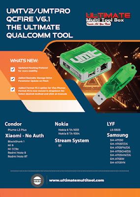 Download UMTv2 / UMTPro QcFire v6.1 Update Setup (04-10-2020)