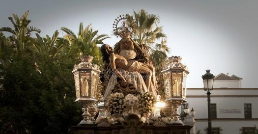 Horario e itinerario del Rosario de la Aurora en Las Angustias de Jerez de la Frontera este Domingo