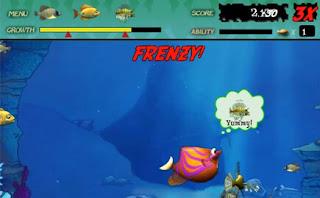 games ikan makan ikan Feeding Frenzy