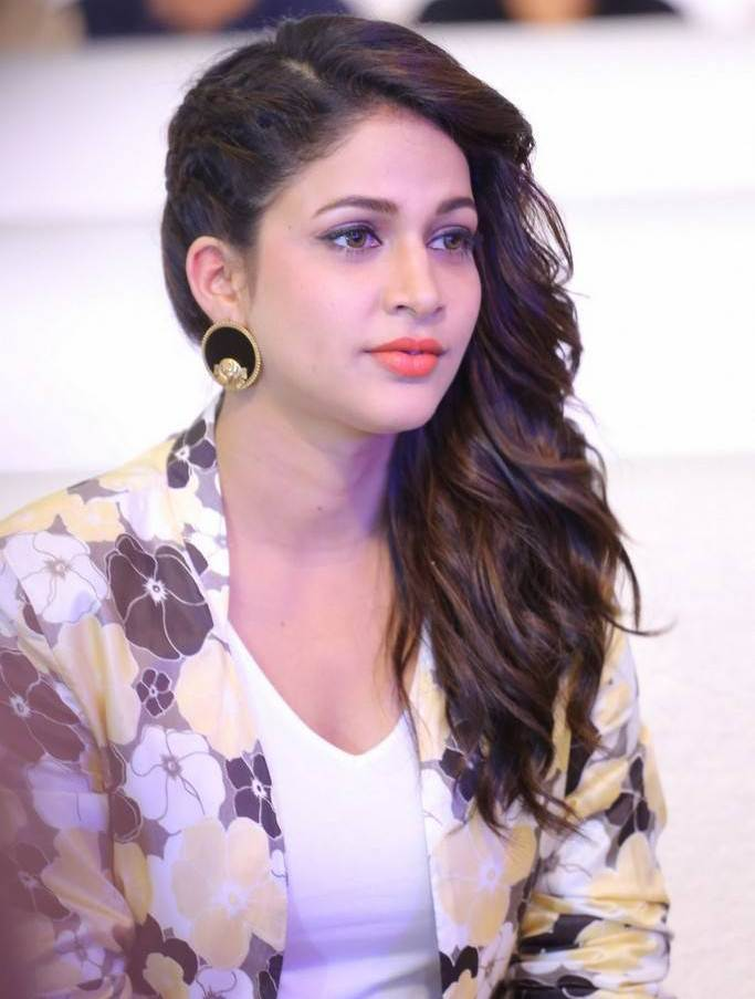 Lavanya Tripathi Stills At Telugu Movie Pre Release Function