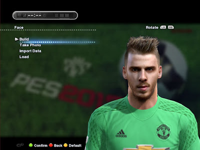 PES 2013 David De Gea New Face By Mohammad Rostami