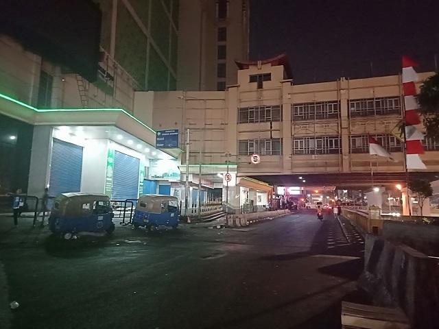 Pasar Tanah Abang di Malam Hari