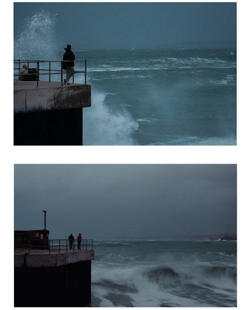 Harbour, harbour mouth, harbour entrance, storm, high seas, ocean view,
