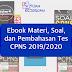 Alur dan Berkas Pedaftaran CPNS 2019 (Mengacu Pada Alur Pendaftaran CPNS 2018)