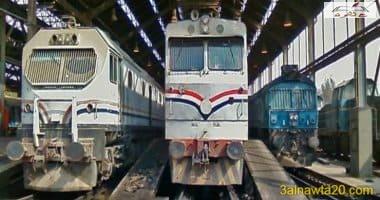 حادث تصادم قطار أسوان -القاهر رقم 989 وقطار سوهاج -القاهرة رقم 991