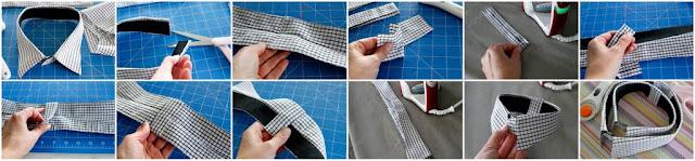 Shortening a dress shirt collar for smaller neck