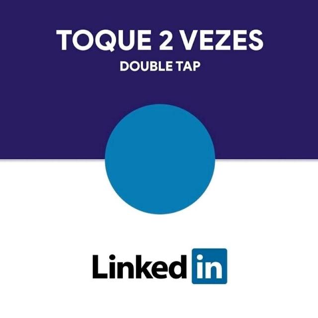 """""""Novo"""" ou """"velho"""" recurso do LinkedIn?"""