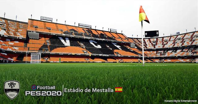 PES 2020 Mestalla Stadium by Arthur Torres