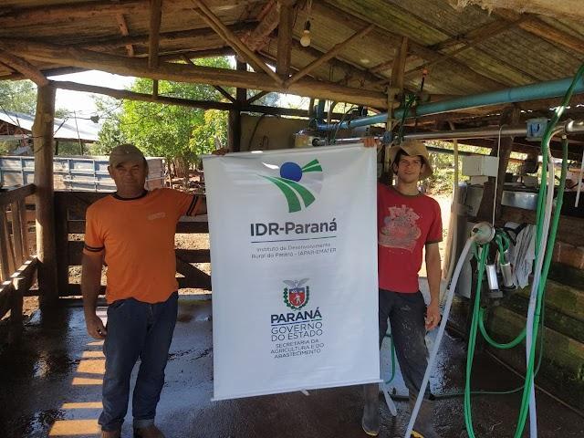 Sucessão familiar para manter a produção na bovinocultura leiteira de Iretama