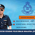 Minima SPM Layak Mohon Jawatan Kosong Terkini Polis Diraja Malaysia (PDRM)
