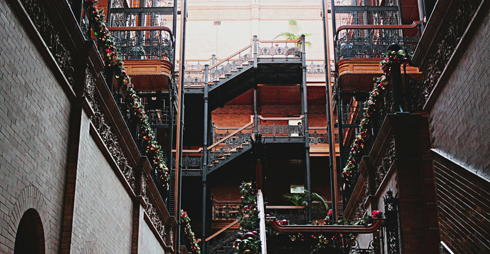 Bradbury Building Los Angeles DTLA