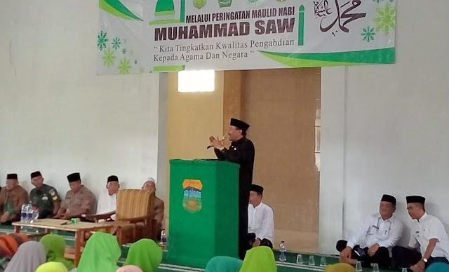 Peringatan Maulid Nabi Muhammad SAW di Kec.Sukarame