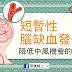 短暫性腦缺血發作 – 降低中風機會的各種方法(懶人包)