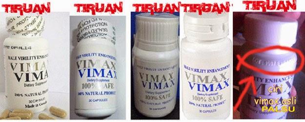 Vimax Asli, Ciri Vimax Asli, Cara Membedakan Vimax Asli da Palsu.