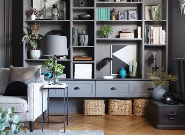 El DIY perfecto para convertir la barata librería BILLY en una pieza elegante