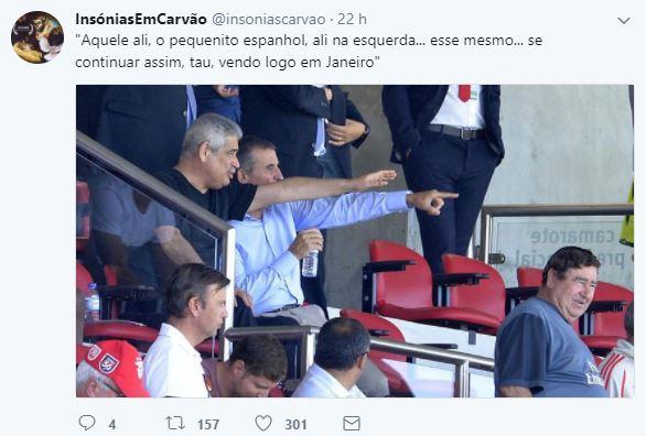 Luís Filipe Vieira o negociador implacável