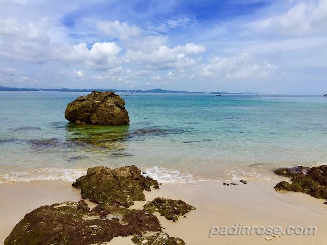 Pulau Kapas view