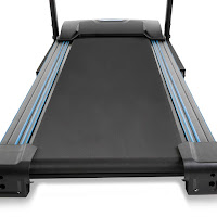 "Xterra Fitness TR150 Treadmill's 16"" wide x 50"" long deck, image"