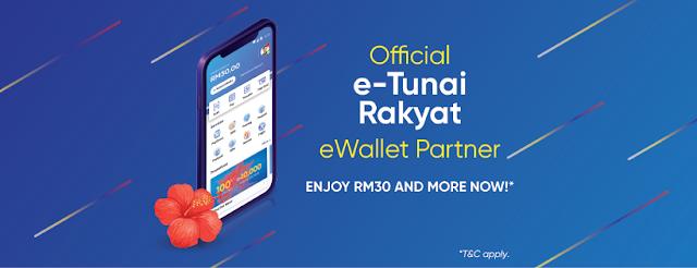 cara daftar etunai rakyat rm30 e-wallet