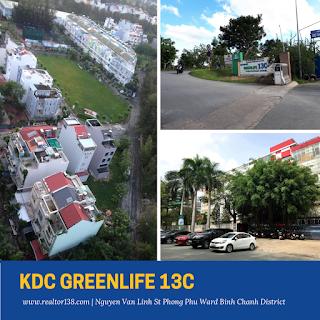 bán lô đất nền biệt thự khu dân cư greenlife 13c phong phú