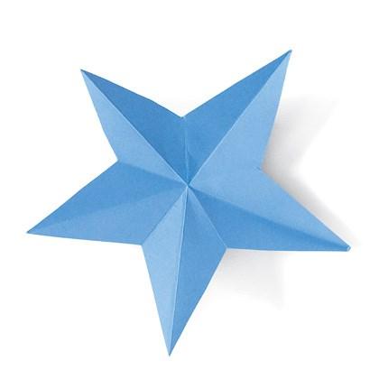 Fold-and-snip Stars