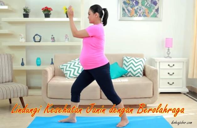 Lindungi Kesehatan Janin dengan Berolahraga