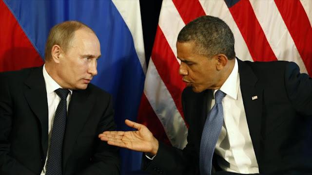 Rusia arremete contra Obama por comparar Putin con Saddam Husein