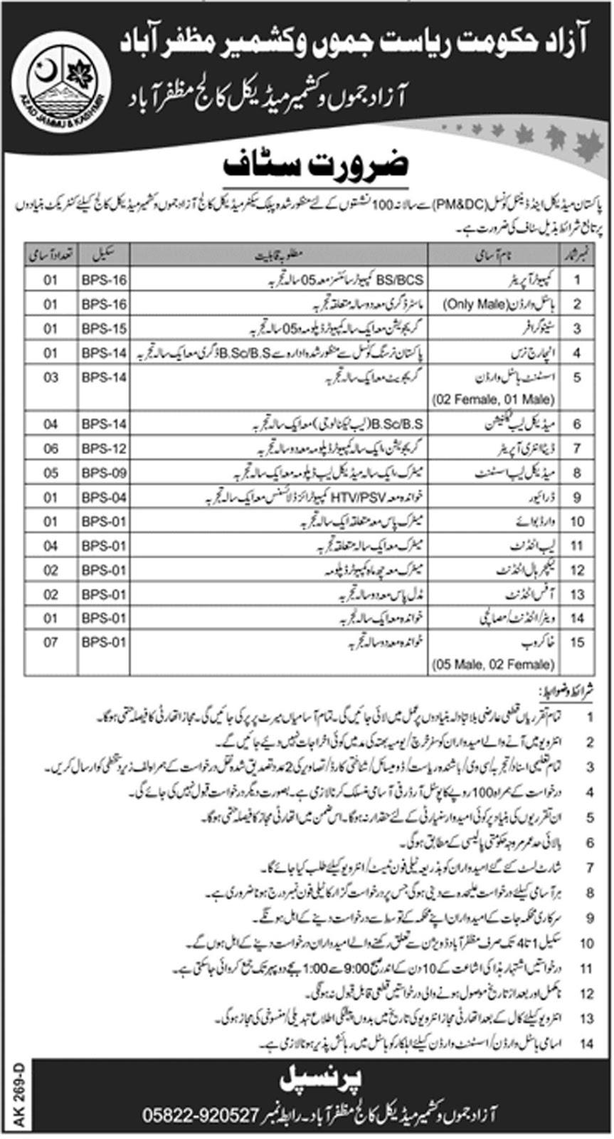 Azad Jammu and Kashmir Medical College Muzaffarabad